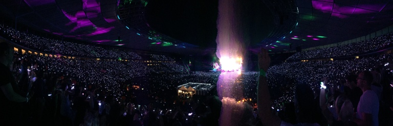 Coldplay @Olympiastadion Berlin
