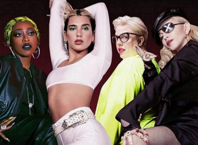 Dua Lipa feat. Madonna & Missy Elliott - Levitating (The Blessed Madonna Remix)